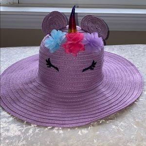 Limited too unicorn floppy brim hat